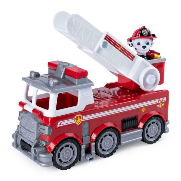 Camionul de pompieri a lui Marshal Paw Patrol Ultimate Rescue