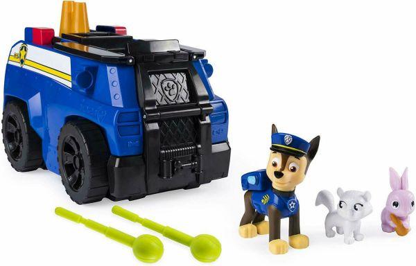 Camionul transformator de politie  Paw Patrol Chase Ride N Rescue