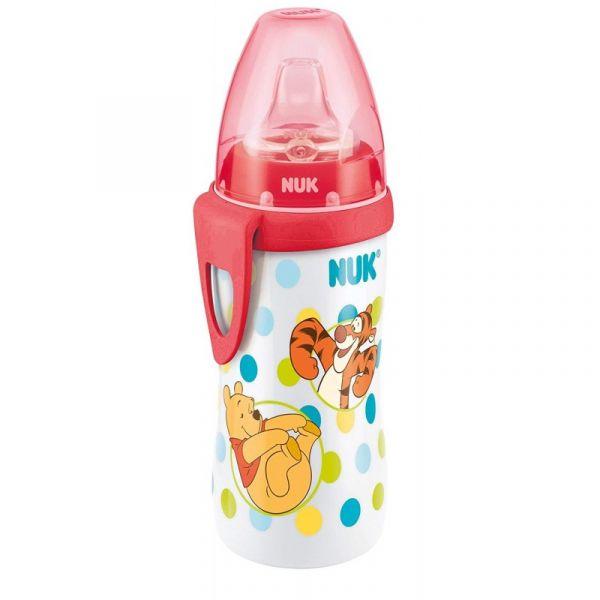 Cana cu duza din silicon Nuk Active Cup Disney 300 ml 12+