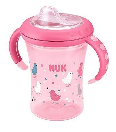 Cana de tranzitie Nuk 1 Easy Learning 6+ pink, blue
