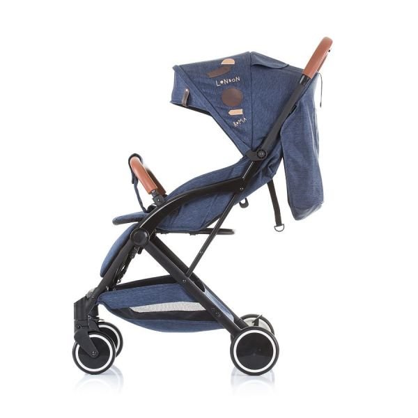 Carucior combinat Chipolino Oreo 2020 grey denim