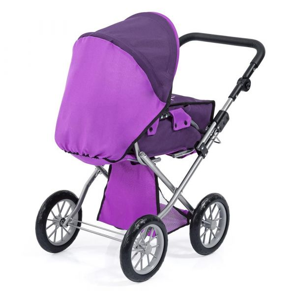 Carucior pentru papusi Bayer City Star purple