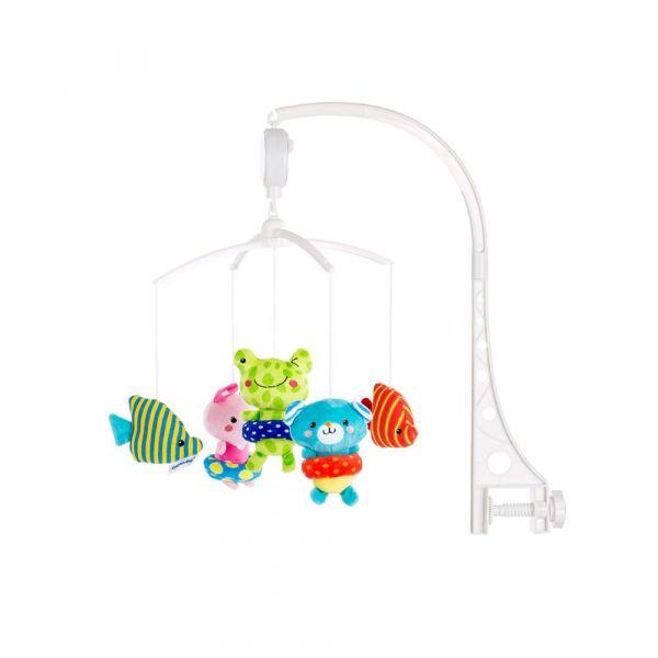 Carusel muzical pentru patut si tarc Chipolino little swimmers