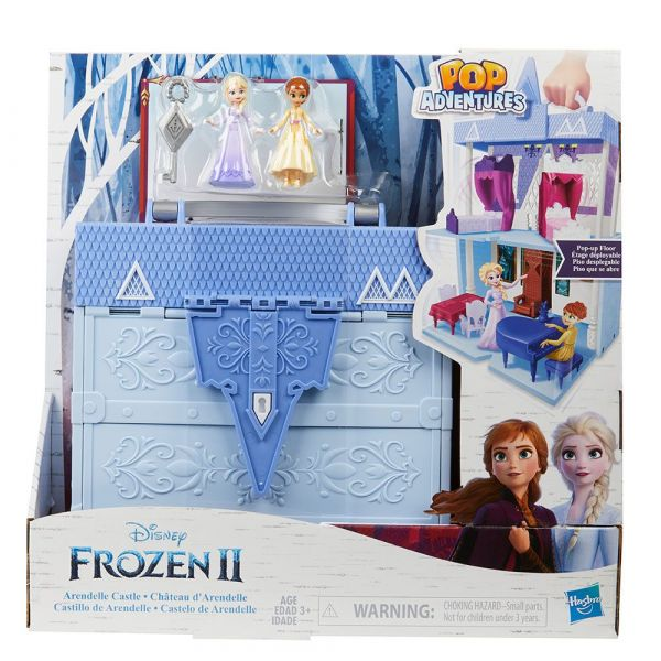 Castelul din Arendelle in valiza Hasbro Disney Frozen II