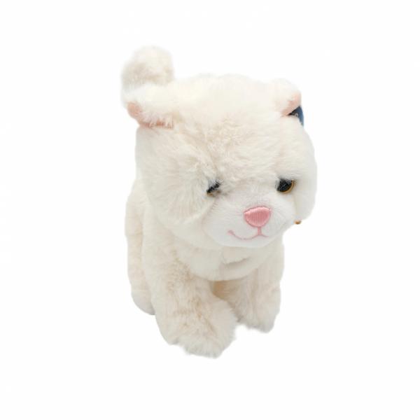Catel sau pisica din plus cu sunete 18 cm