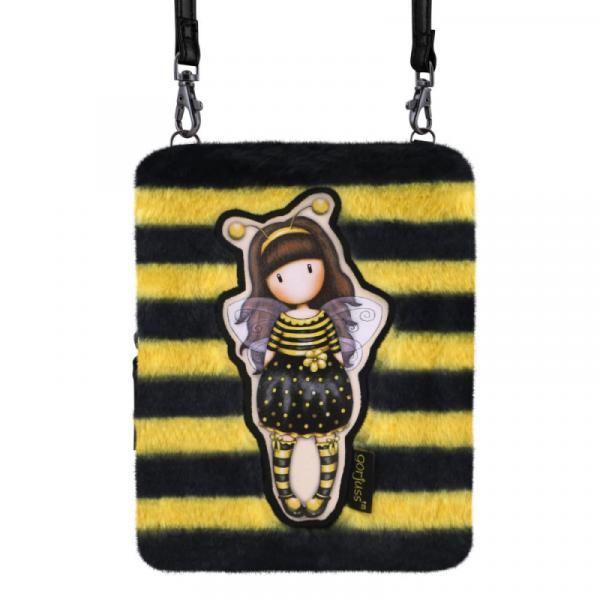 Geanta dreptunghiulara Gorjuss Furry Bee Loved