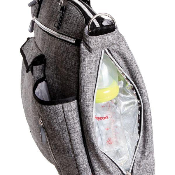 Geanta pentru carucior cu izolator termic Lorelli Practical light grey