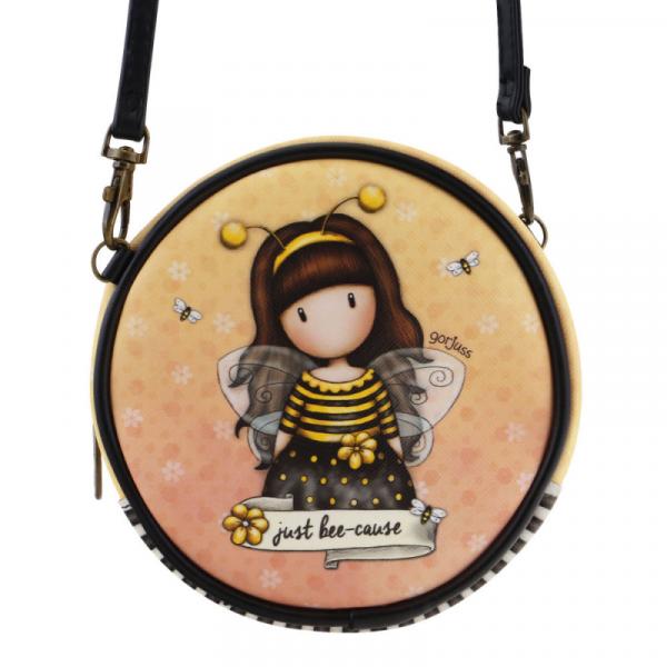 Geanta rotunda cu snur Gorjuss Bee Loved