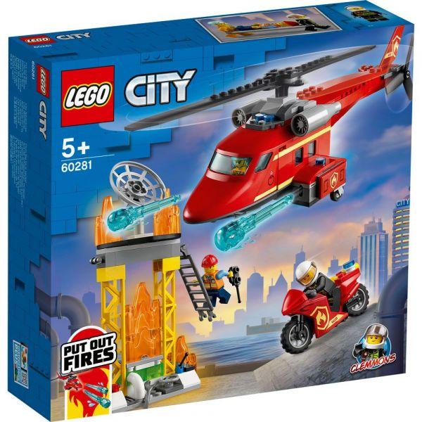 Lego City Elicopter de pompieri 60281