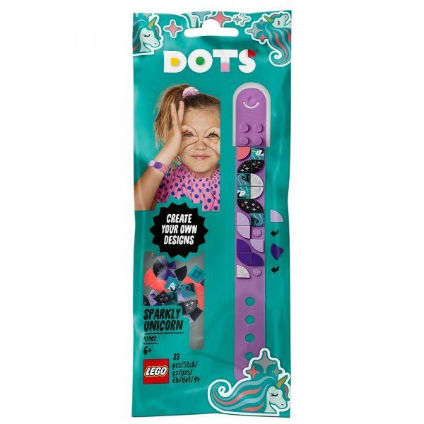 Lego Dots bratara unicorn 41902