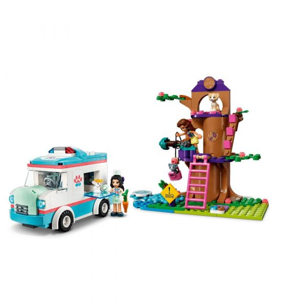 Lego Friends Ambulanta veterinara 41445