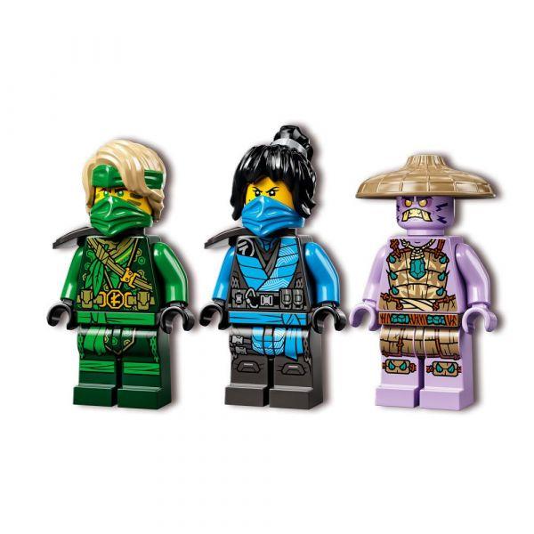 Lego Ninjago Motocicleta de jungla a lui Lloyd 71745