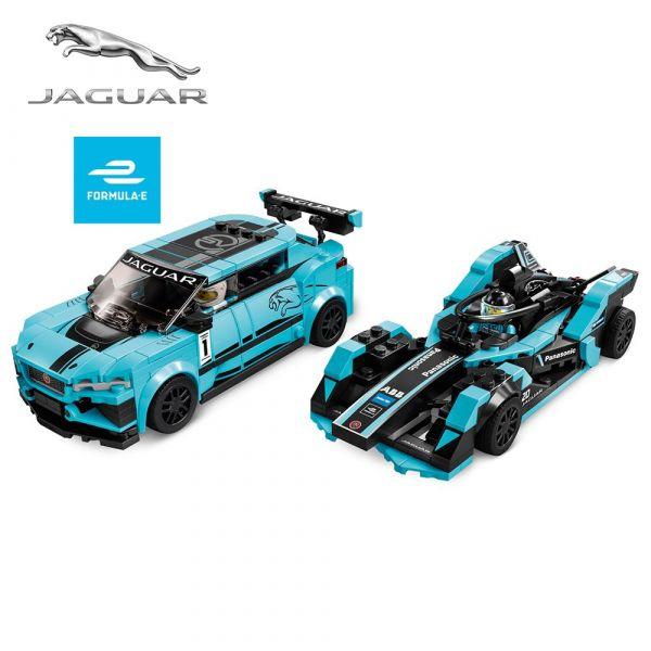 Lego Speed Champions Formula E Panasonic Jaguar Racing si Jaguar I-Pace 76898
