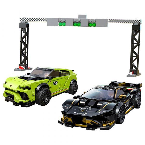 Lego Speed Champions Urus ST-X si Lamborghini Huracan Super 76899