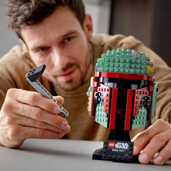 Lego Star Wars Casca lui Boba Fett 75277