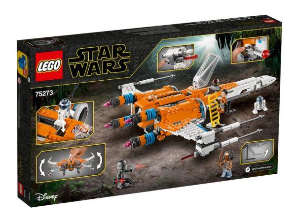Lego Star Wars X-wing al lui Poe Dameron 75273