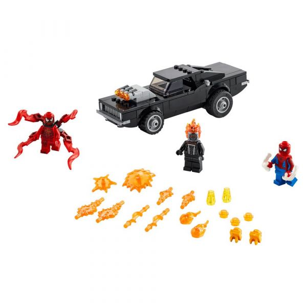 Lego Super Heroes Spider-Man si Ghost Rider vs Carnage 76173