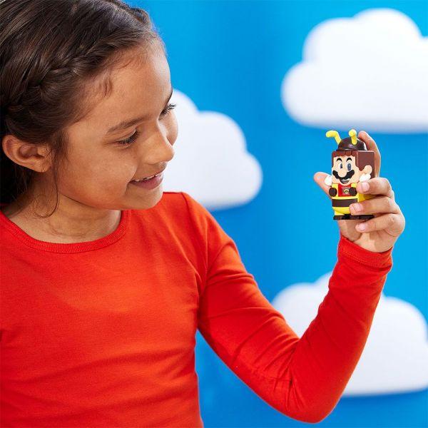 Lego Super Mario Costum de puteri Mario Albina 71393