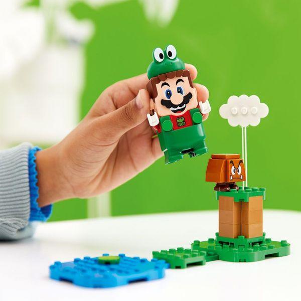 Lego Super Mario Costum de puteri Mario Broasca 71392