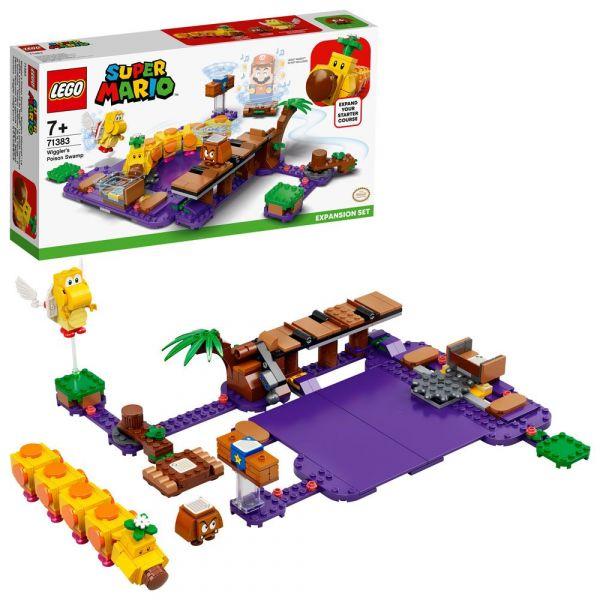 Lego Super Mario Set de extindere Mlastina otravitoare 71383