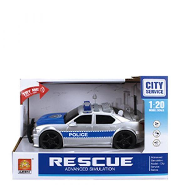 Masinuta de politie City Service 1:20
