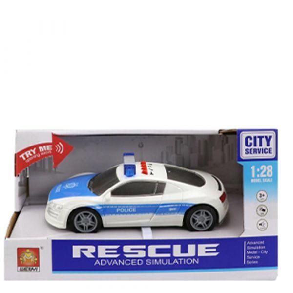 Masinuta de politie City Service 1:28