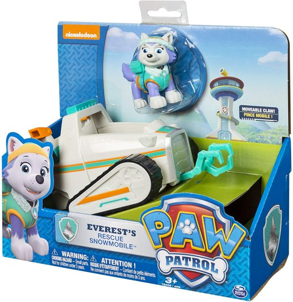 Masinuta Paw Patrol Everest Rescue Snowmobil