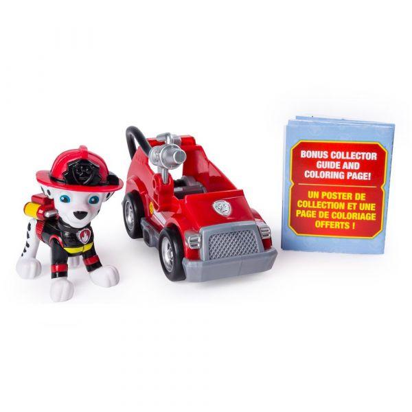 Mini vehicul cu figurina Paw Patrol