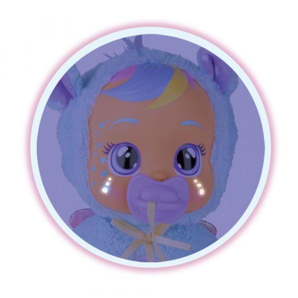 Papusa care plange cu corp moale IMC Cry Babies Good Night Jenna