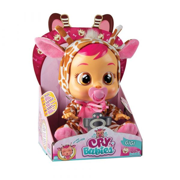 Papusa care plange IMC Cry Babies Gigi