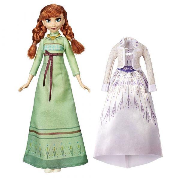 Papusa cu 2 rochii Hasbro Disney Frozen II