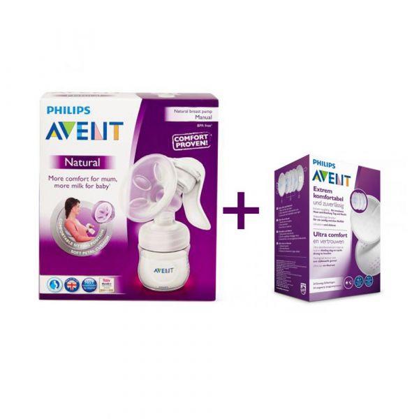 Pompa manuala pentru san Avent Comfort