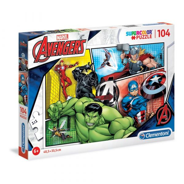 Puzzle 104 piese Clementoni The Avengers