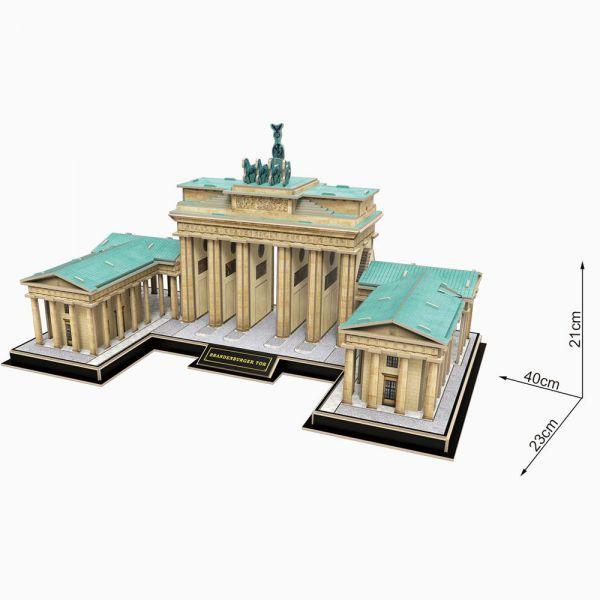 Puzzle 3d Cubic Fun 150 piese Brandenburg Gate
