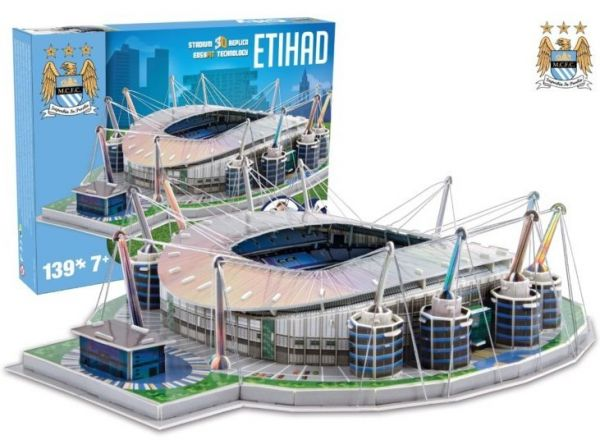 Puzzle 3D stadion Nanostad Etihad Manchester City