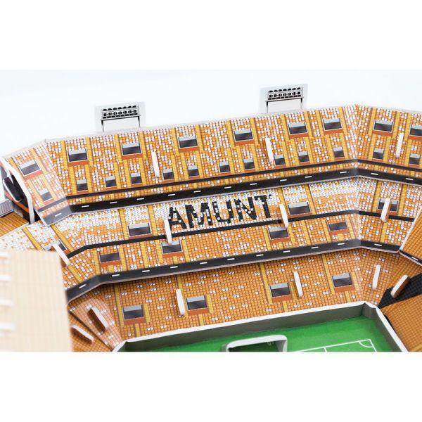 Puzzle 3D stadion Nanostad Mestalla Valencia