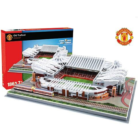 Puzzle 3D stadion Nanostad Old Trafford Manchester United