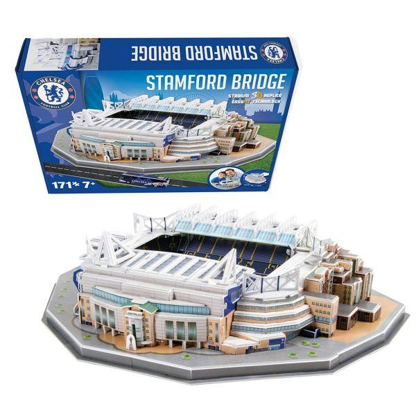 Puzzle 3D stadion Nanostad Stamford Bridge Chelsea