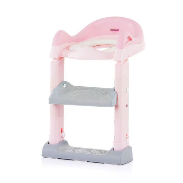 Reductor pentru toaleta cu scara Chipolino Tippy pink