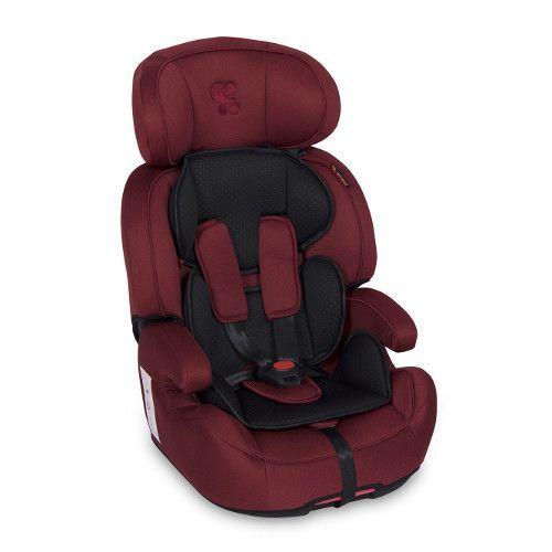 Scaun auto cu isofix Lorelli Iris red/black 9-36 kg