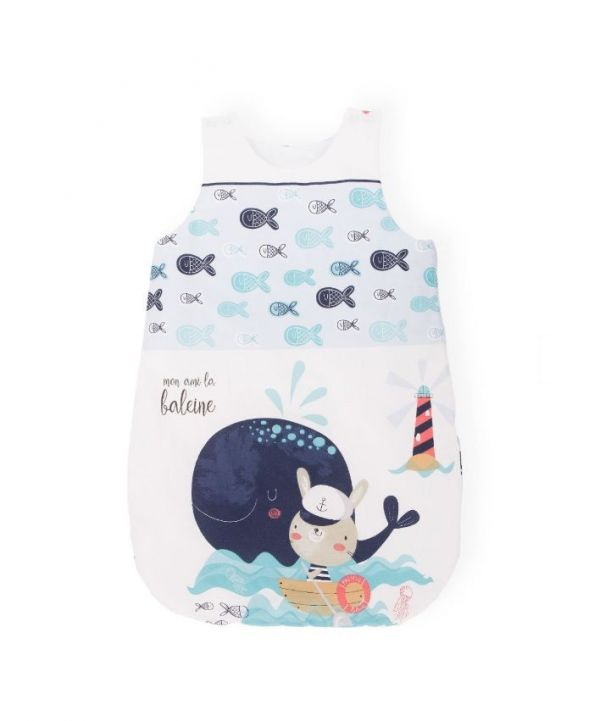 Sac de dormit 0-6 luni Kikka Happy Sailor