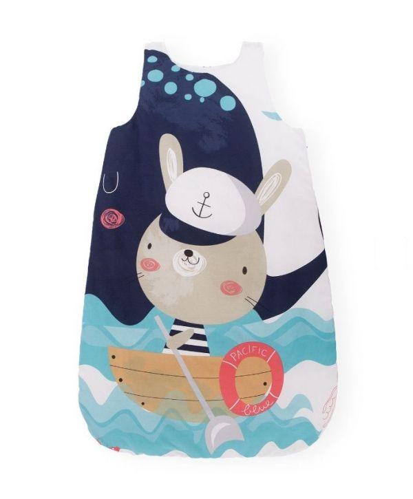 Sac de dormit 6-18 luni Kikka Happy Sailor