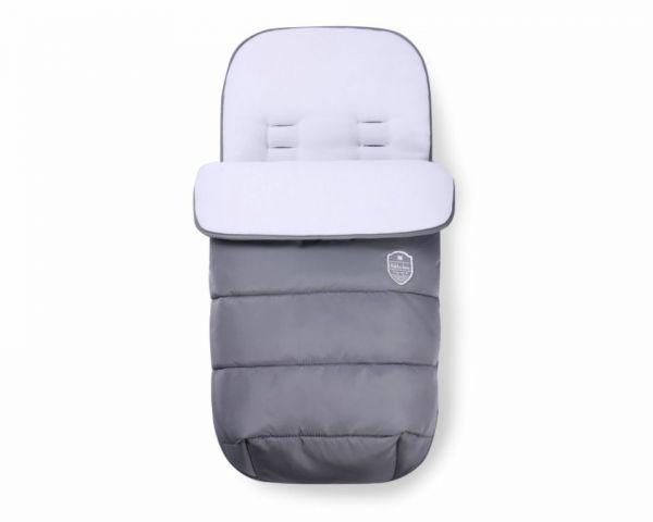 Sac de dormit pentru carucior Kikka Embroidered dark grey