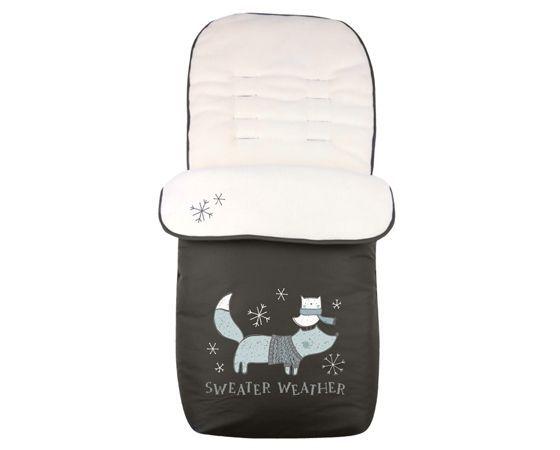 Sac de dormit pentru carucior Kikka Polar Fox black