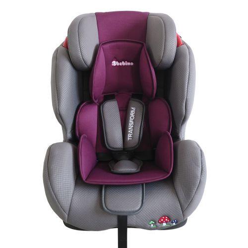 Scaun auto Bebino Transform grey/violet 9-36 kg