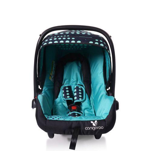Scaun auto Cangaroo Rachel blue dots 0-13 kg