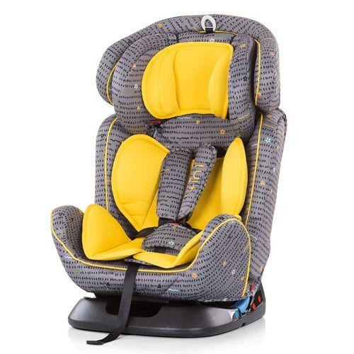 Scaun auto Chipolino 4 in 1 yellow 0-36 kg