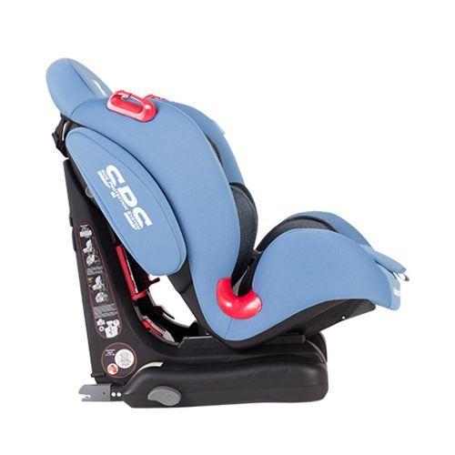 Scaun auto cu isofix Kikka Senior light blue 9-36 kg
