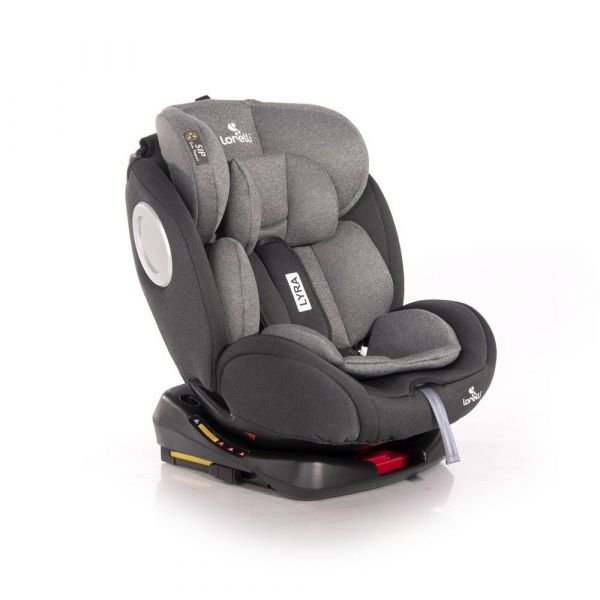 Scaun auto cu isofix Lorelli Lyra 2020 Black Grey 0-36 kg