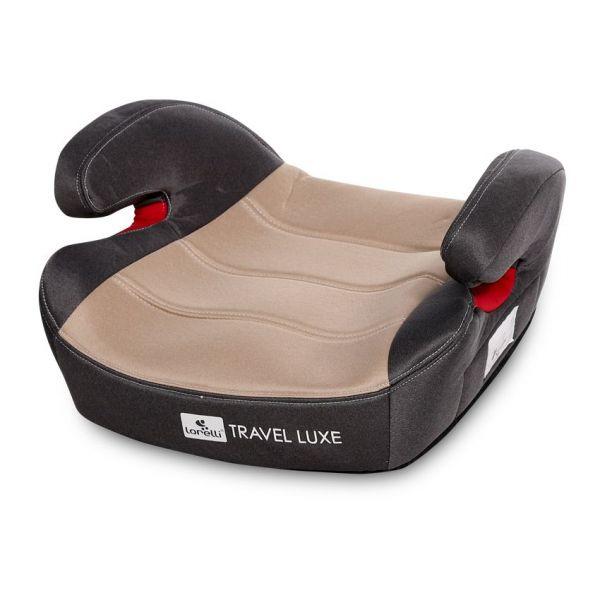 Scaun auto cu isofix Lorelli Travel Luxe 2020 beige 15-36 kg